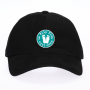 Life is Flip Flop Good Teal on Black Hat