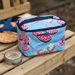 Flip Flops Small Cosmetic Bag