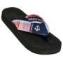 Madras Anchor Flip Flops by Tidewater