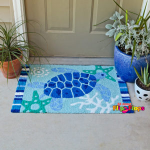 Sea Turtle Accent Area Rug