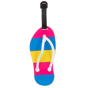 Summer Flip Flop Luggage Tag