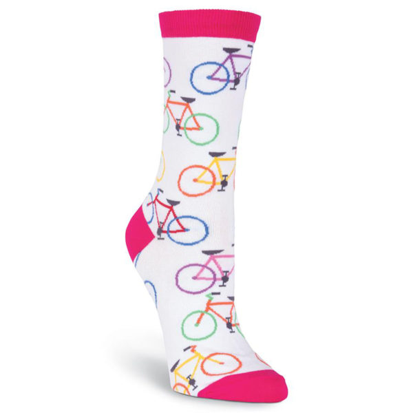 Colorful Bikes Crew Socks