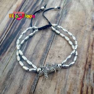 Beaded Vintage Starfish Anklet