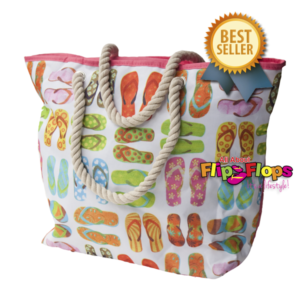Flip Flops Beach Tote Bag