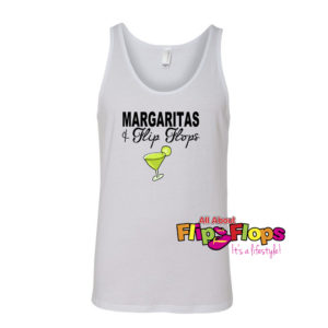 Margaritas and Flip Flops Tank Top